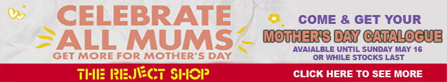 Reject Shop Mothers Day Catalogue